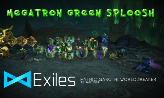 Mythic Megatron Green Sploosh is down!
