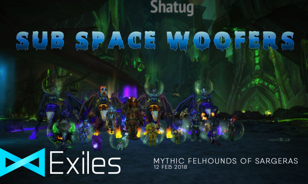 Mythic Sub Space Woofers Down