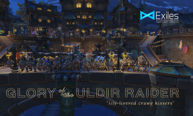 Glory of the Uldir Raider