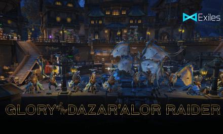 Glory of the Dazar'Alor Raider – Exiles