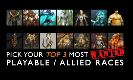Which Playable or Allied Races do you want to have?