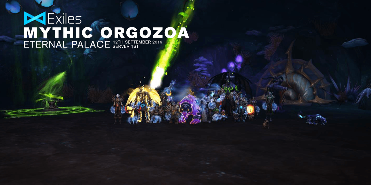 Mythic Orgozoa Realm First