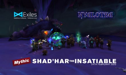 Mythic Nyalotha Shadhar the Insatiable