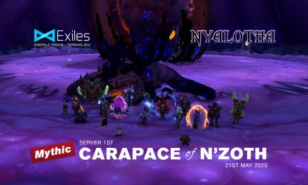 Mythic Carapace Server First