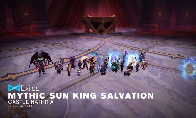 Mythic Sun King Salvation