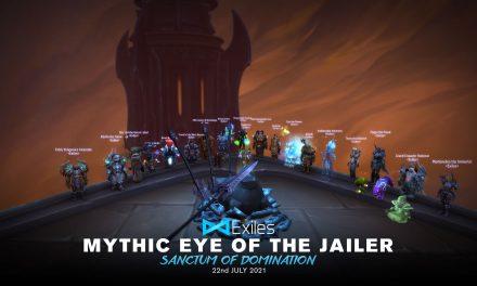 Mythic Eye of the Jailer Holy Paladin PoV