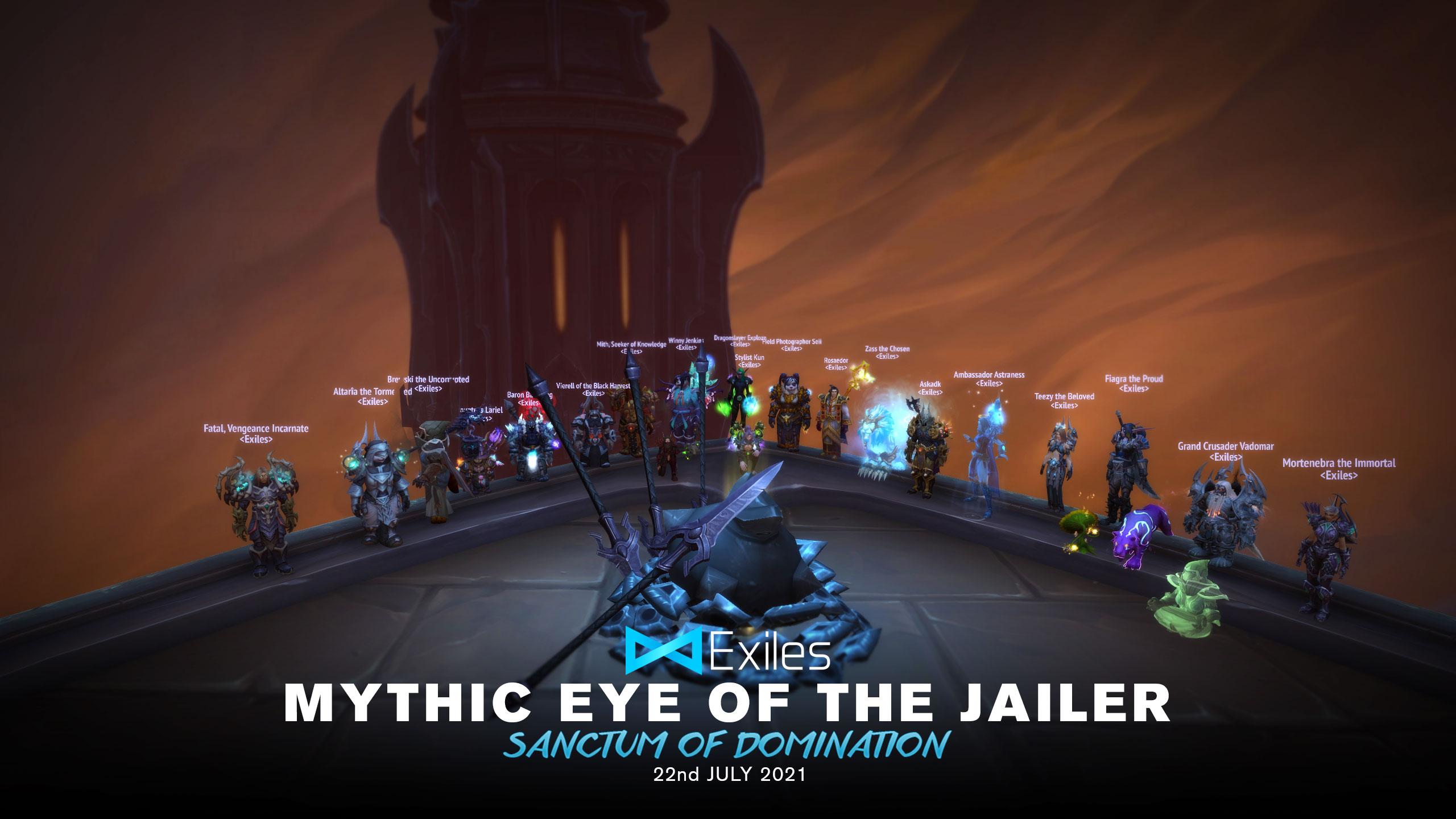 mythic eye of the jailer