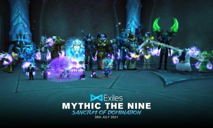 The Nine Mythic – Sanctum of Domination