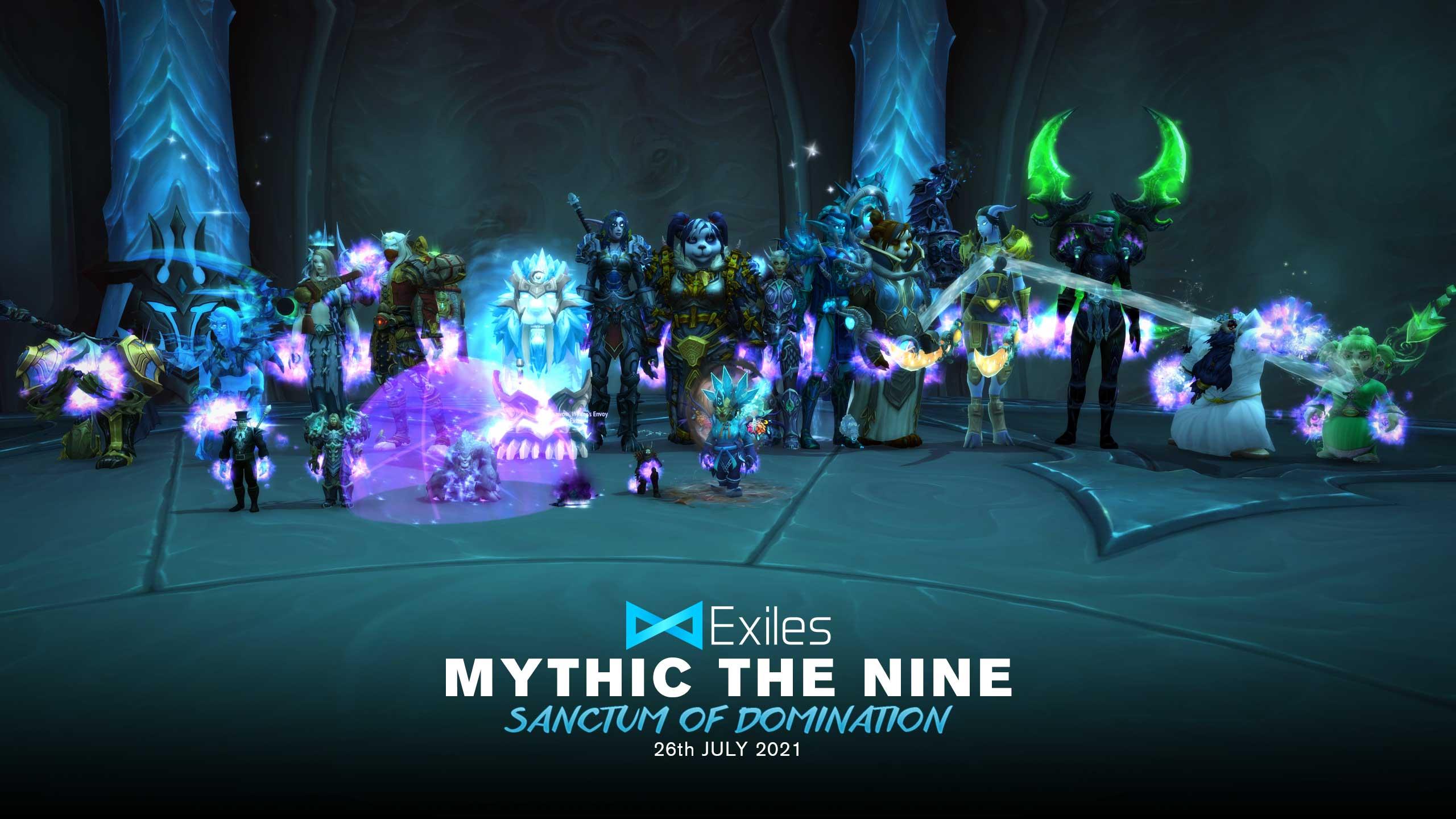 The Nine Mythic Feral Druid PoV