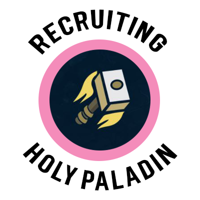 holy paladin recruitment