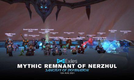 Remnant of Nerzhul Mythic
